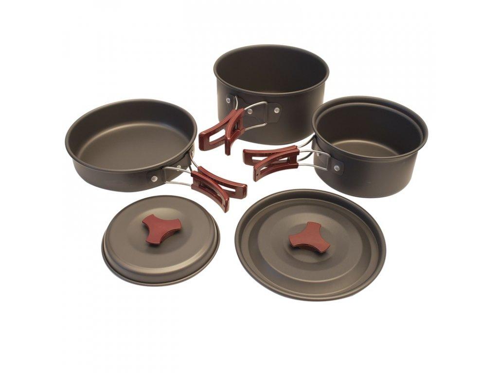 Campingové nádobí – sada YATE YEN 2-3 osoby