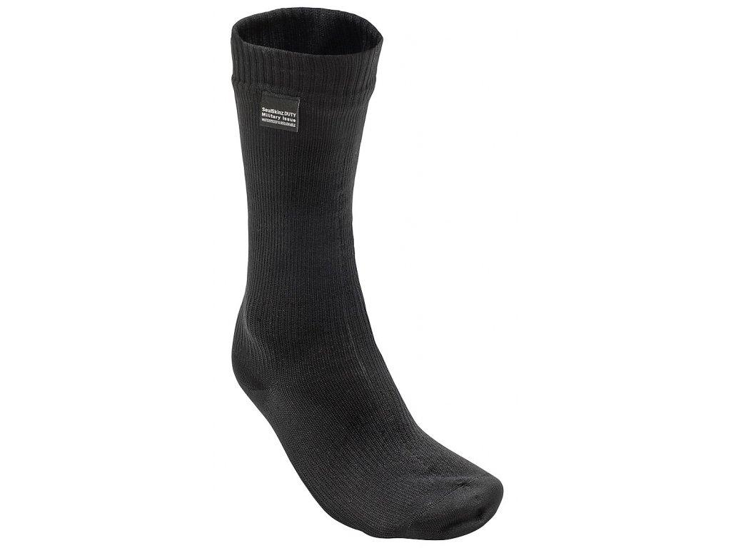 Ponožky britské nepromokavé SEALSKINZ COMBAT černé Velká Británie