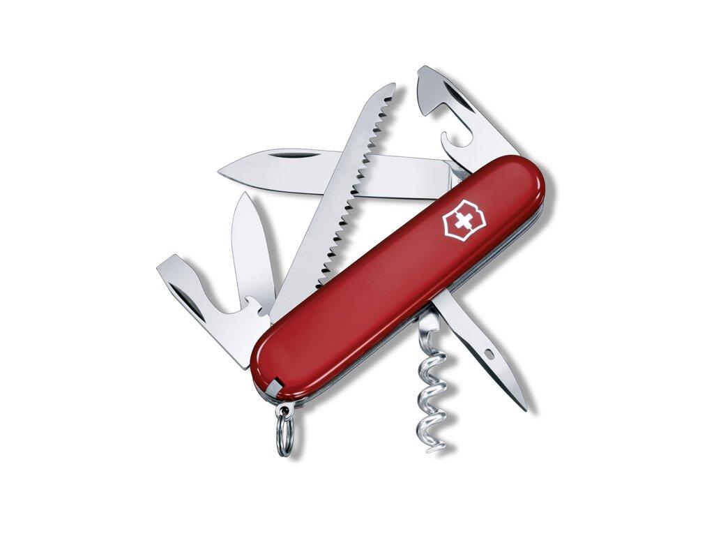 Victorinox Camper kapesní zavírací nůž s pilkou