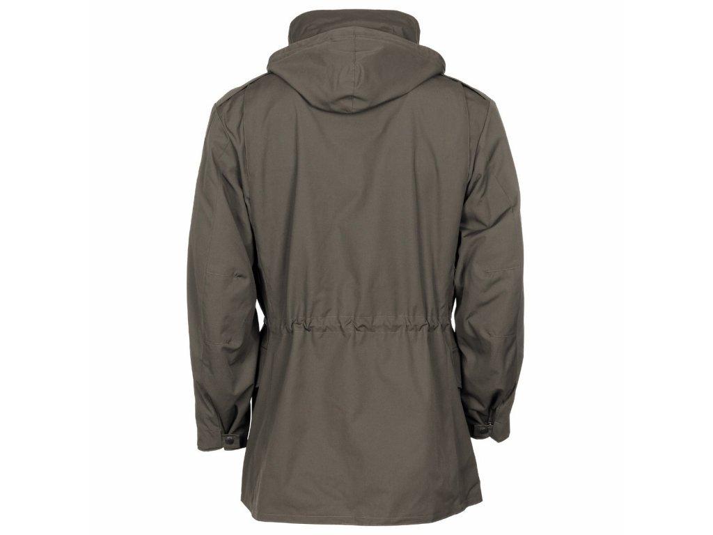 Bunda (parka m65) polní kabát Rakousko oliv (ECWCS,Gore-Tex,Goretex,laminát) originál