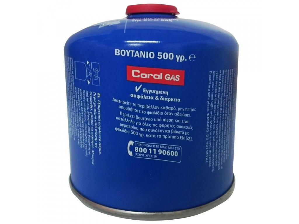 Náhradní kartuš Meva Coral Gas  ventil,závit 500g