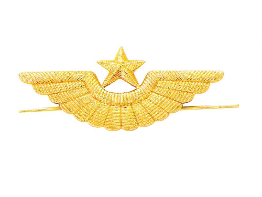 Odznak Rusko hvězda křídla zlatý