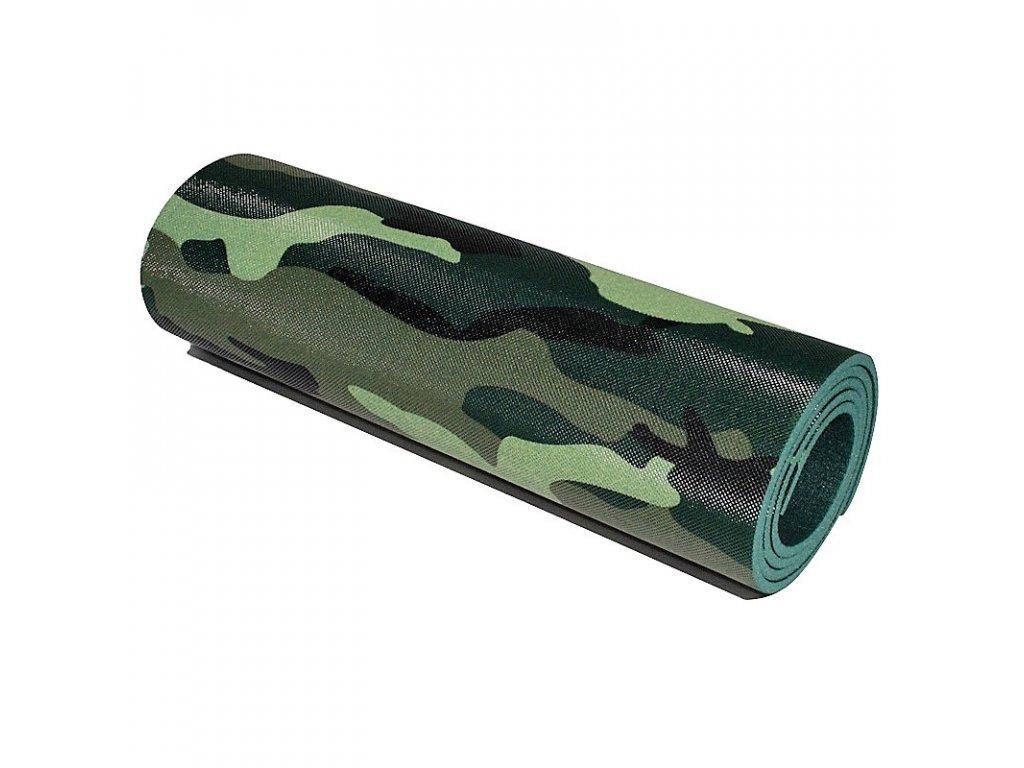 Karimatka camo US ARMY 8mm s maskovací fólií Yate