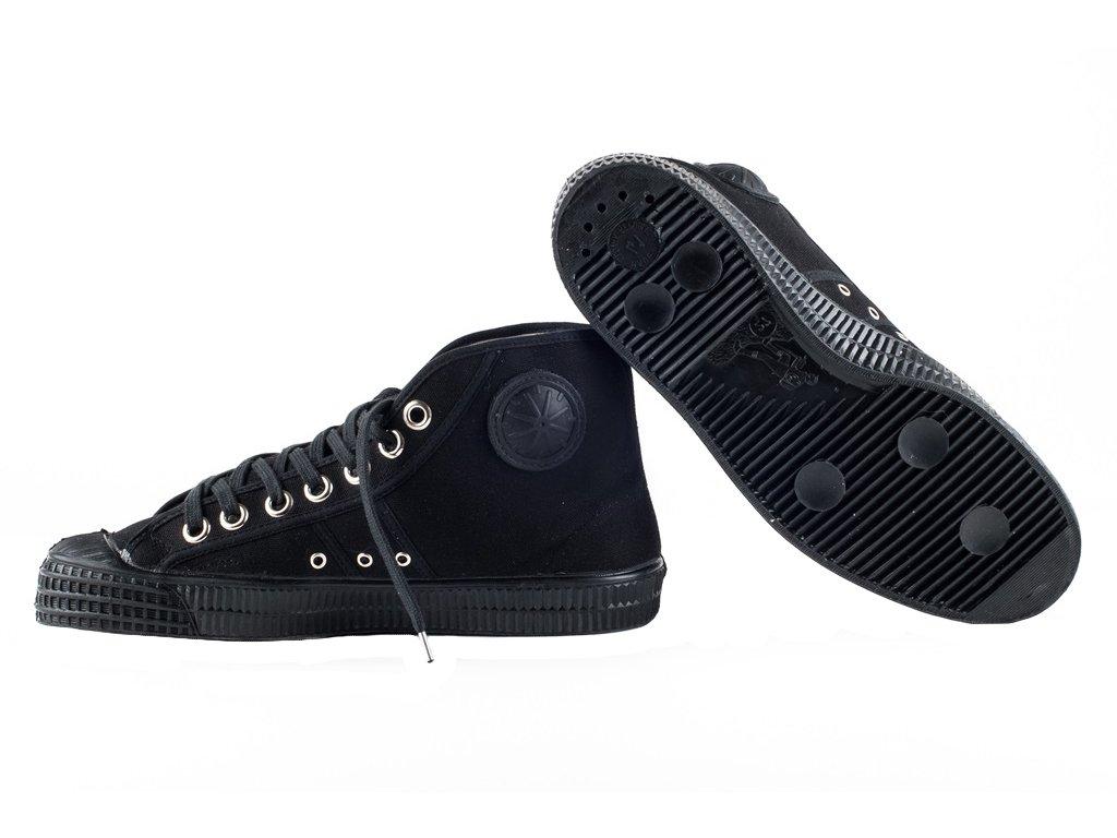 Tenisky boty Basketball kotníčkové Petreq černé