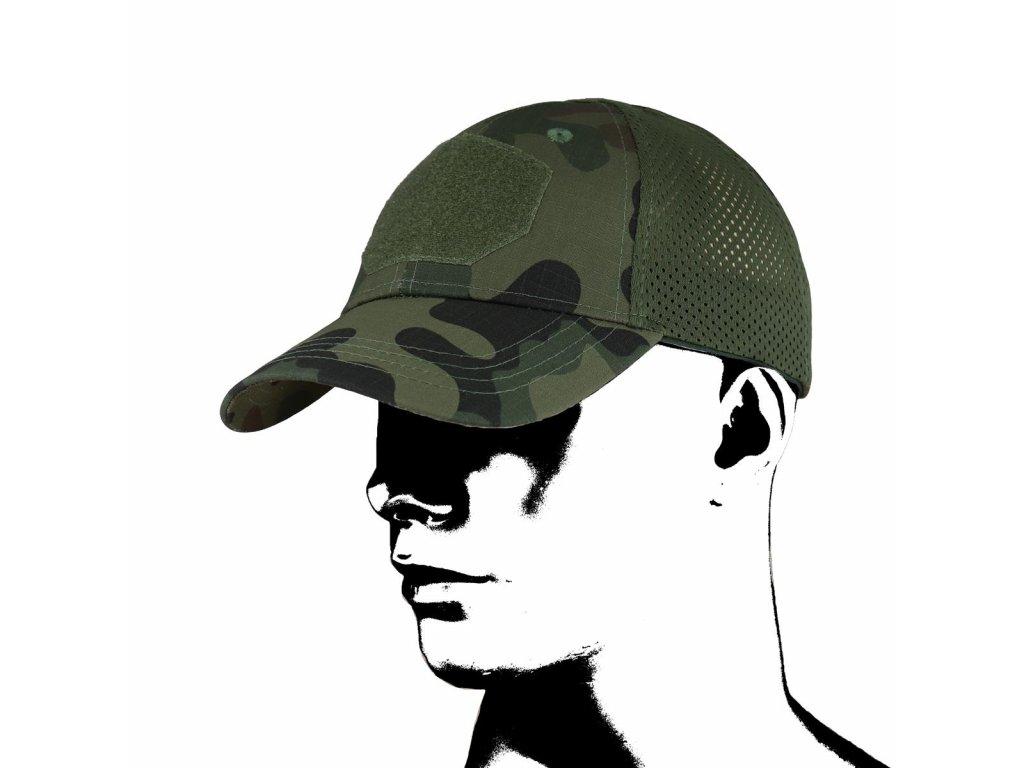 Čepice kšiltovka Baseball Tactical Mesh CMG wz.Pantera