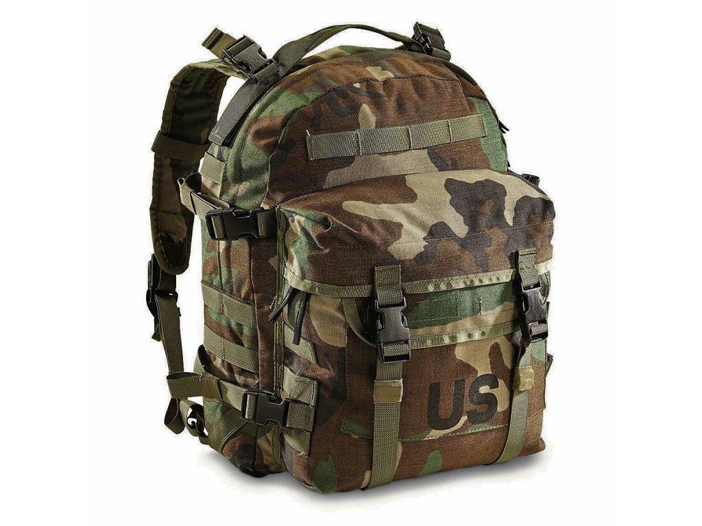 Batoh US SDS Large Assault Pack Molle II woodland 30L original