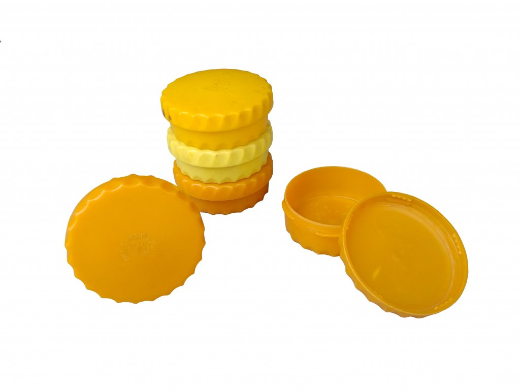 Dóza na máslo Rakousko Heereseigentum plastová použitá originál
