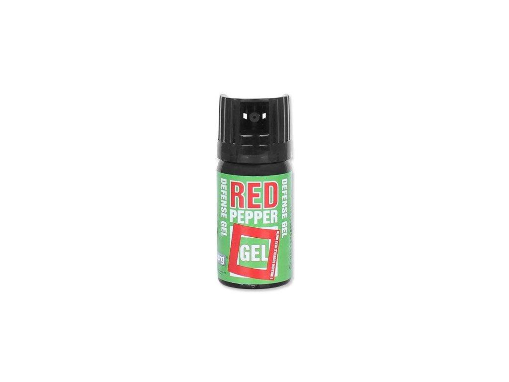 Pepřový sprej Defense Nato Red Pepper Gel JET 40ml  2000000