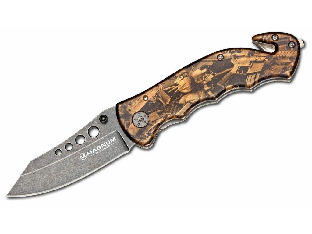 Nůž zavírací záchranářský Bronze Rescue BÖKER® MAGNUM