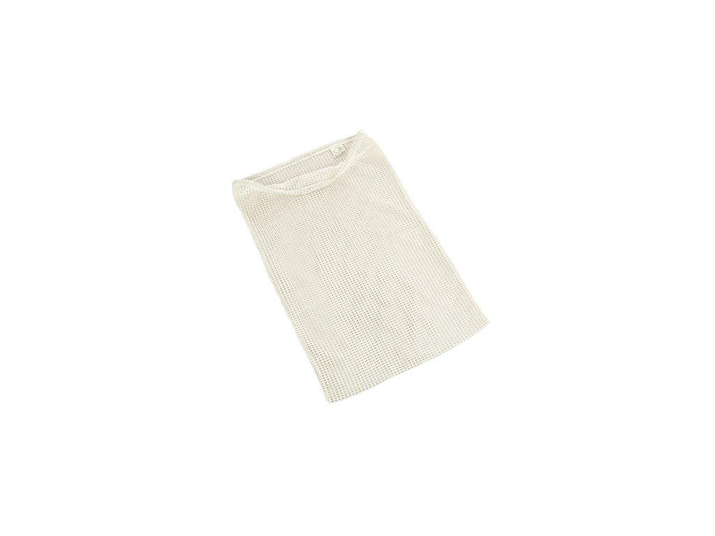 Pytel na prádlo (síťovaný vak) bílý Velká Británie originál
