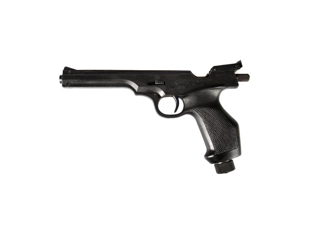 Terčová pistole LOV 21 4,5mm CO2