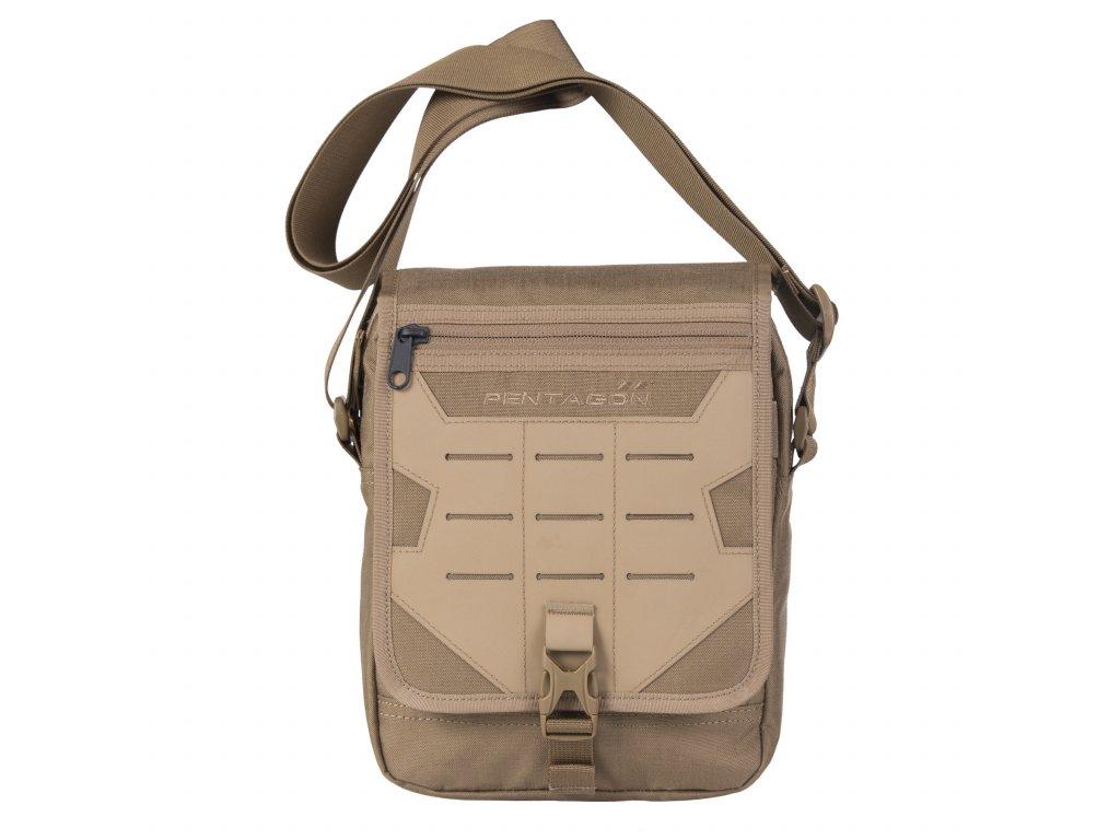 Batoh Messenger (taška) přes rameno Pentagon coyote molle Laser K16087-03
