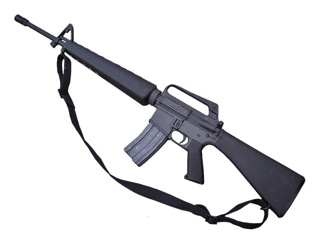 Popruh na zbraň US dvoubodový M4/M16 univerzální černý originál