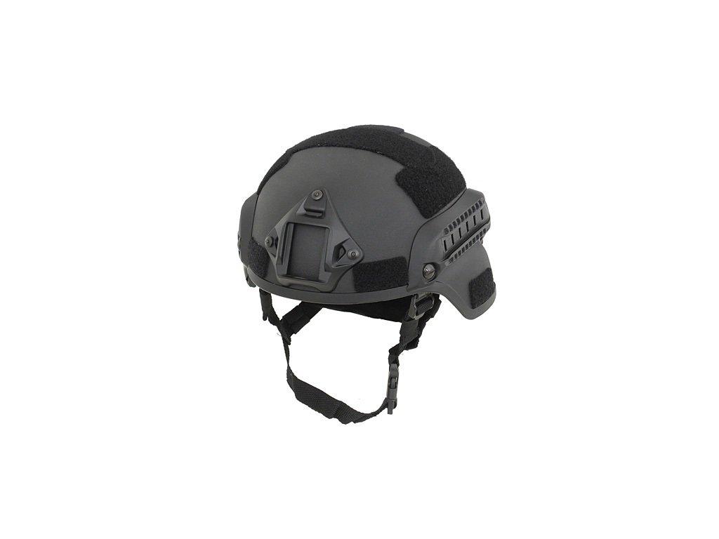 Helma (přilba) Spec-Ops MICH s rail montáží černá