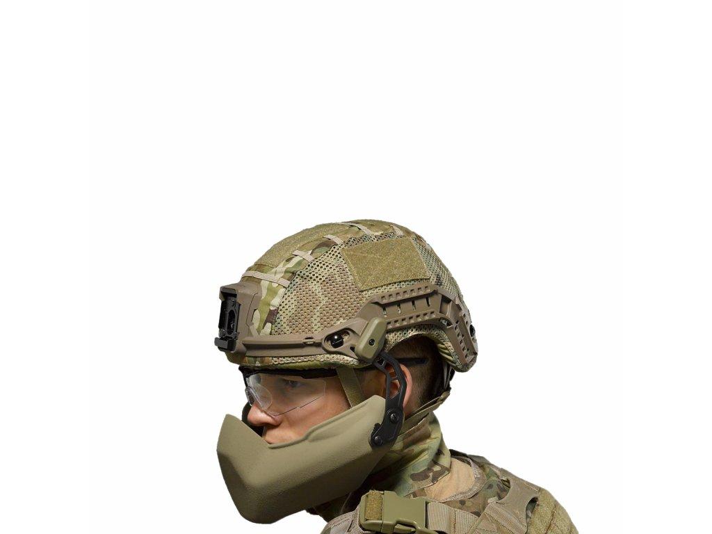 Balistický chránič dolní části obličeje pro přlbu Virtus Batlskin Cobra MTP Source