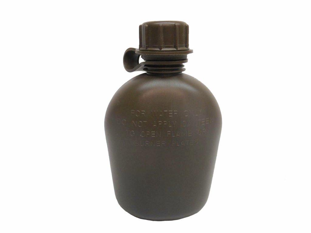 Čutora US Vietnam (polní láhev) holá originál oliv použitá r.1969