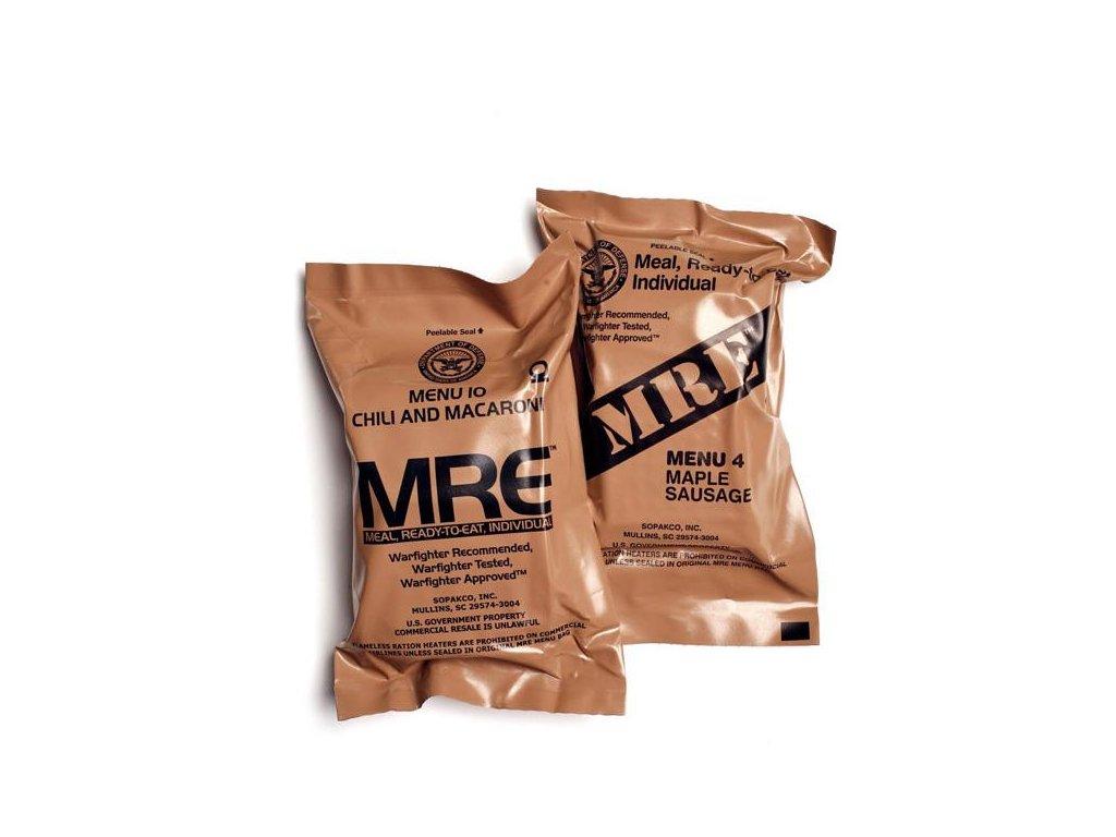 Bojová dávka potravy MRE Meal Ready to Eat US (BDP, KDP) originál