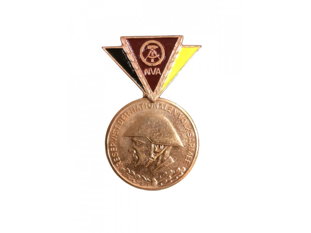 Medaile NVA Nationale Volksarmee bronzová originál