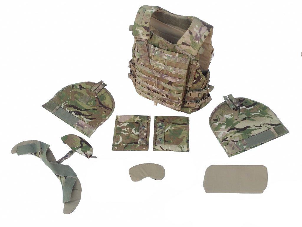 Vesta Virtus STV balistická kevlar Molle MTP Source Scalable Tactical Vest komplet