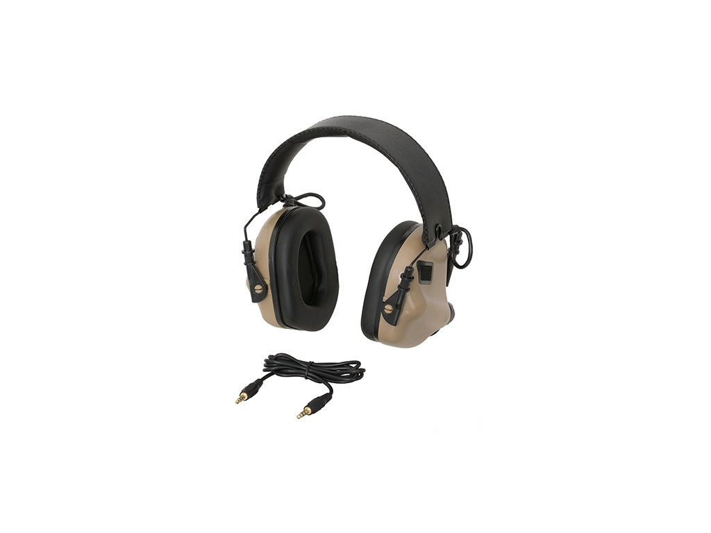 Aktivní chrániče sluchu EARMOR M31 MOD3 coyote TAN