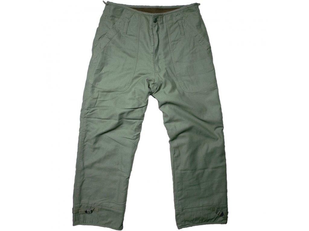 Kalhoty US NAVY Permeable USN zimní originál oliv