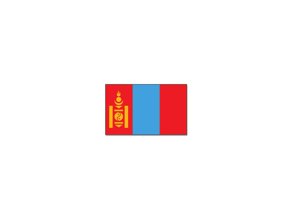 Vlajka 90x150cm Mongolsko
