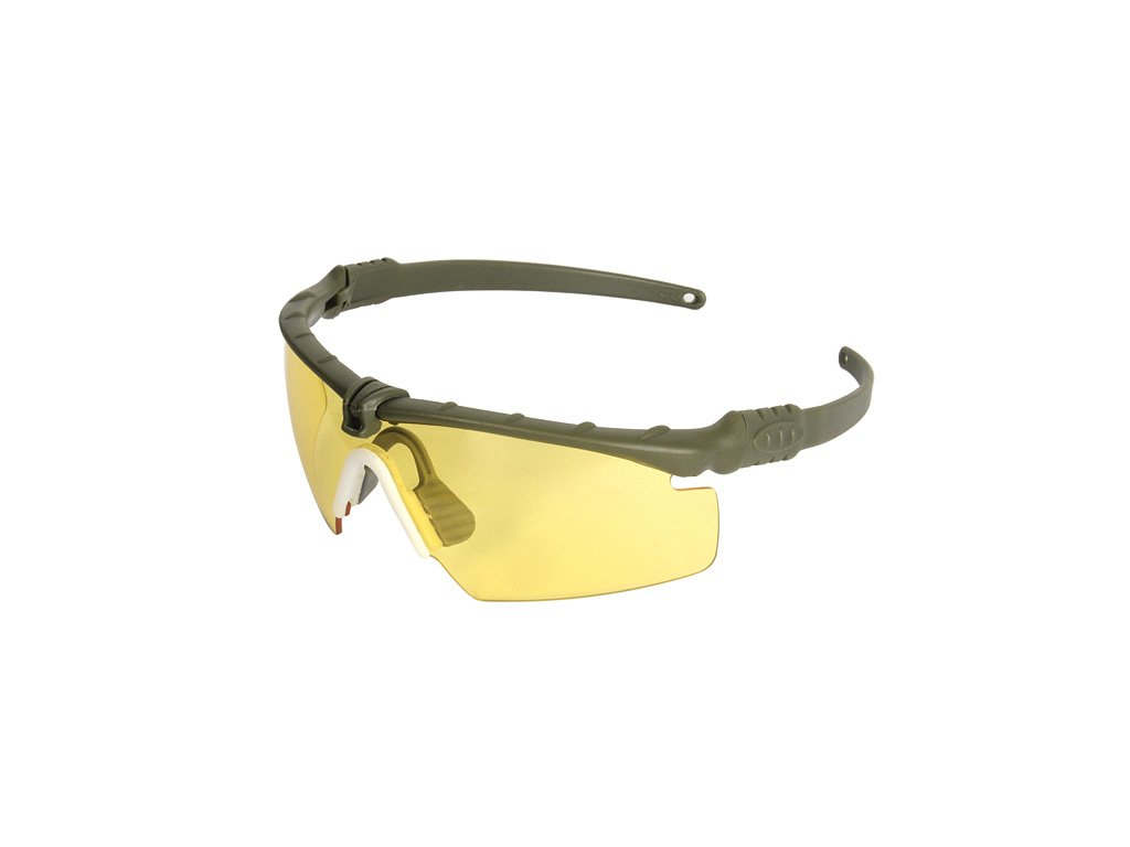 Tactické ochranné brýle Airsoft žlutá skla 8FIELDS