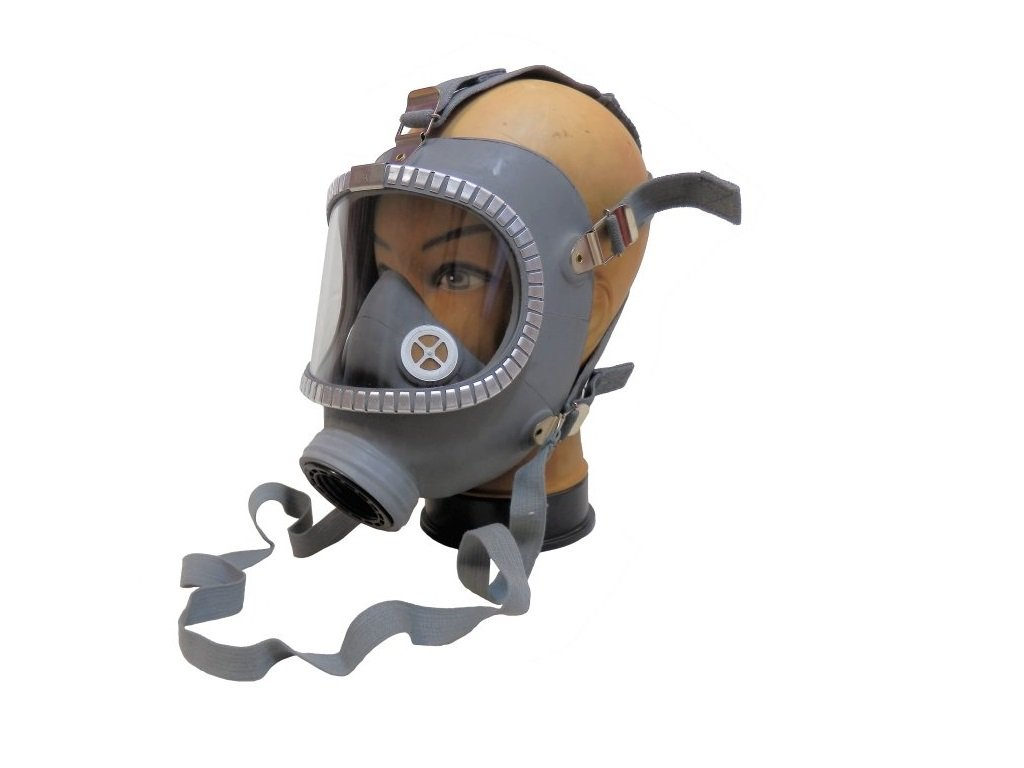 Plynová maska Skyddsmask M65 Finsko