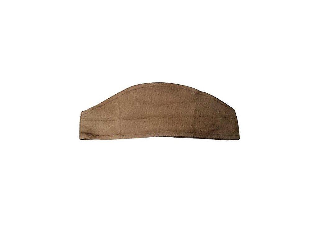 Čepice lodička vz.52 ČSLA khaki originál