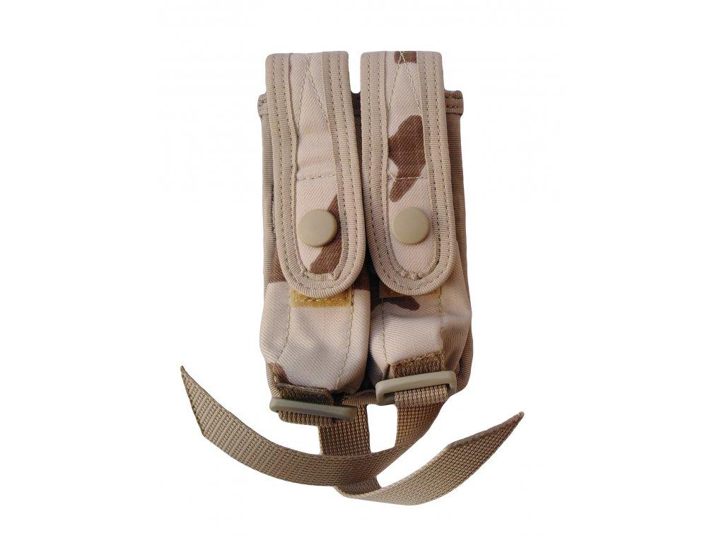 Pouzdro na 2 zásobníky Pi Glock 17 k NPP 2006 (73911) Ulena AČR desert SPM originál
