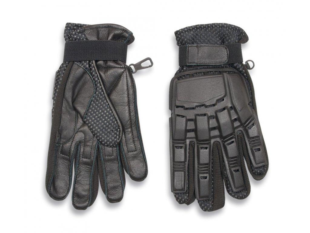 Rukavice Tactical Protection Gloves černé Albainox