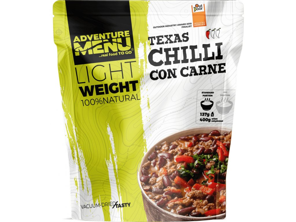 Adventure Menu Chilli con Carne (hotová strava) 400g LIGHTWEIGHT