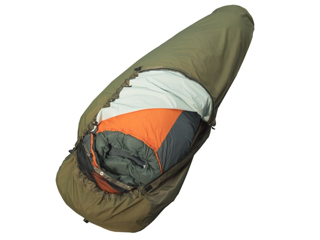 Povlak na spacák Bivy Bag Full Zip (žďárák, bivak) Yate khaki