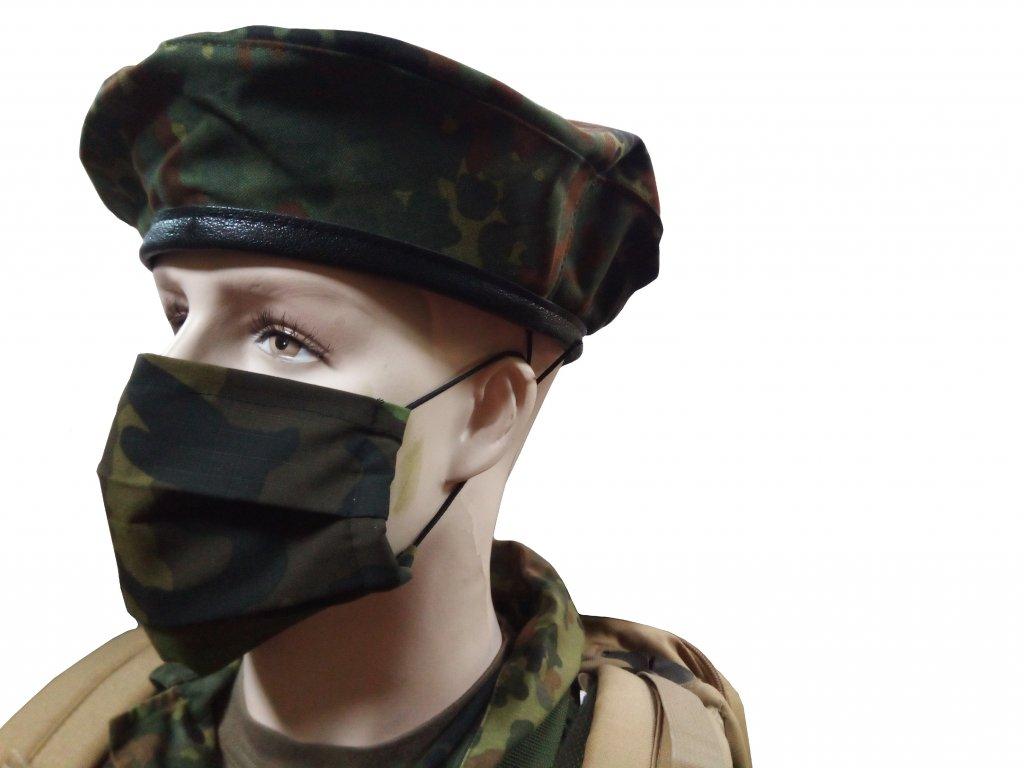 Rouška maskovací bavlněná vz.95 AČR ripstop dvouvrstvá pratelná