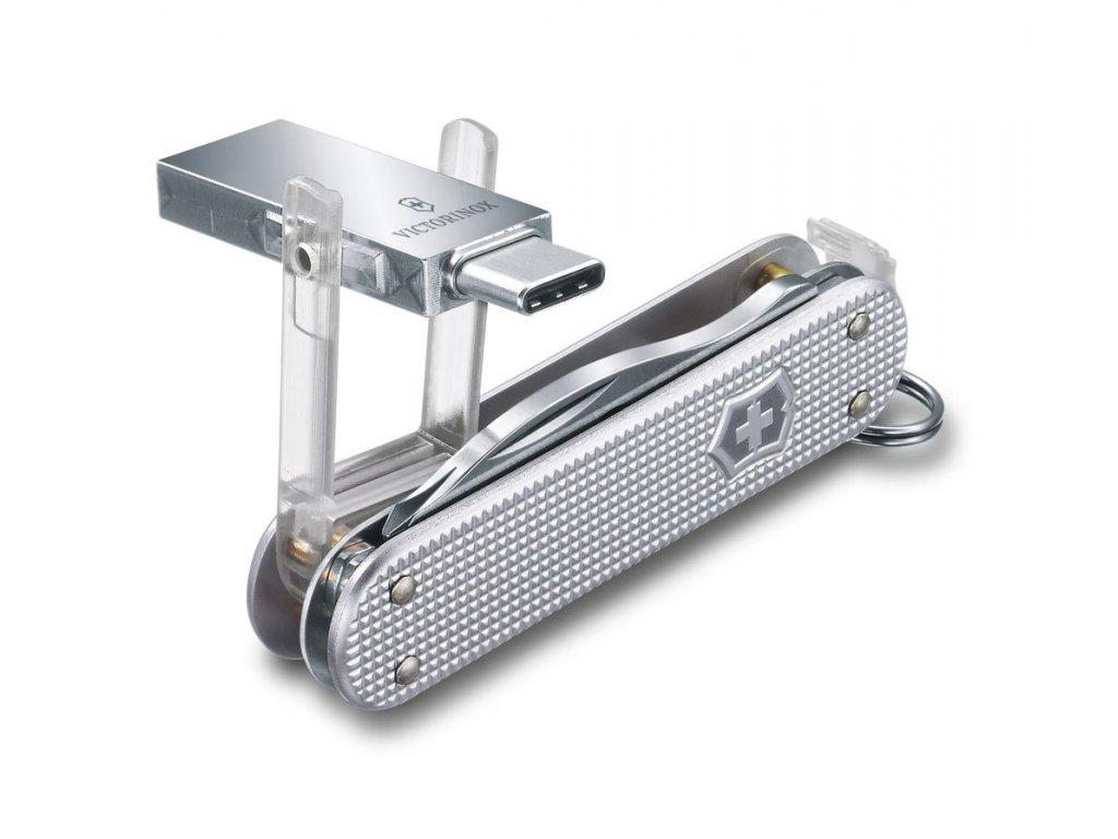 Victorinox Jetsetter@work Alox kapesní zavírací nůž multifunkční flash disk 16 GB