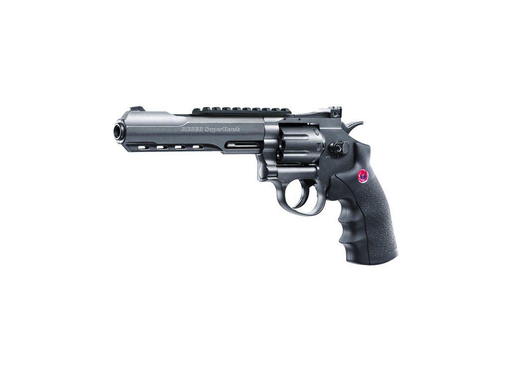 "Revolver Ruger SuperHawk 6"" černý Airsoft 12g CO2"