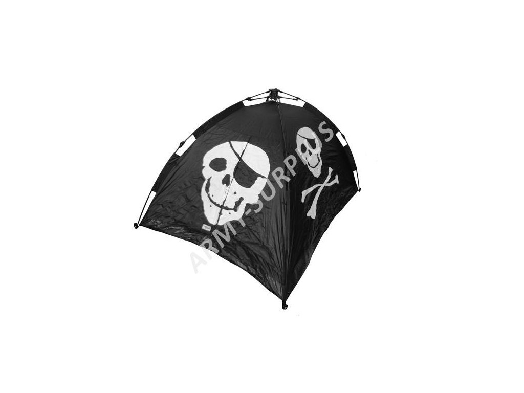 Stan pirát (Jolly Roger) pro 2 osoby Commando černý