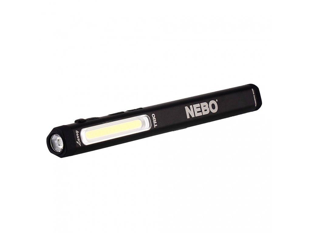 Svítilna NEBO TRIO Laser magnetická nabíjecí USB 300 Lumens C • O • B