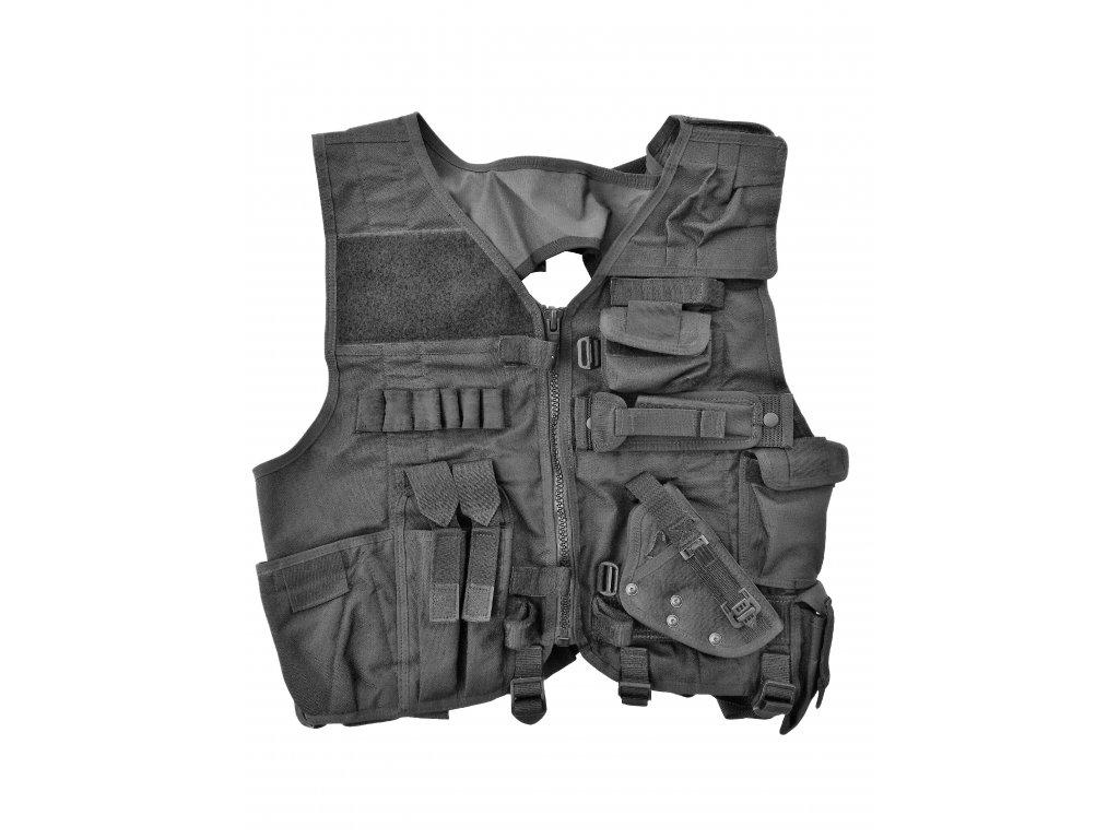 Taktická vesta pořádkové policie T-95 PČR černá SPM