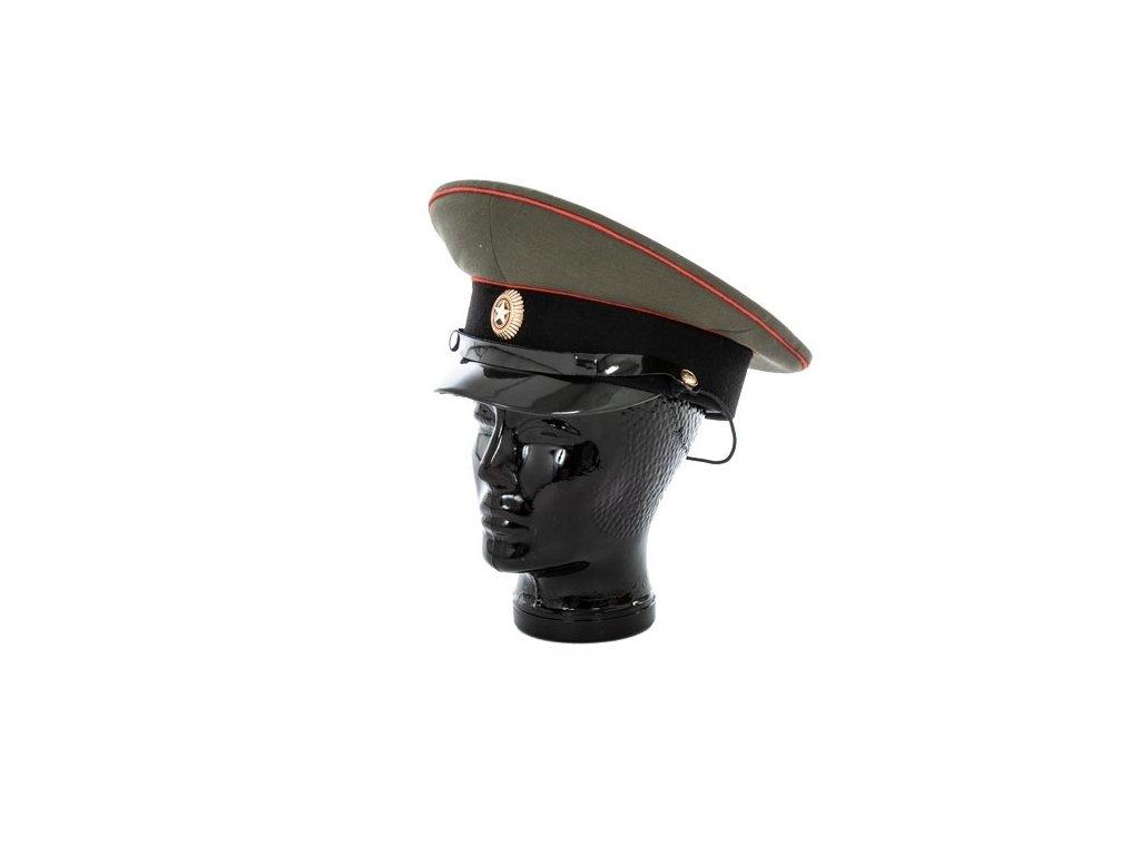 Brigadýrka oliv Rusko černý lem plastový podbradník