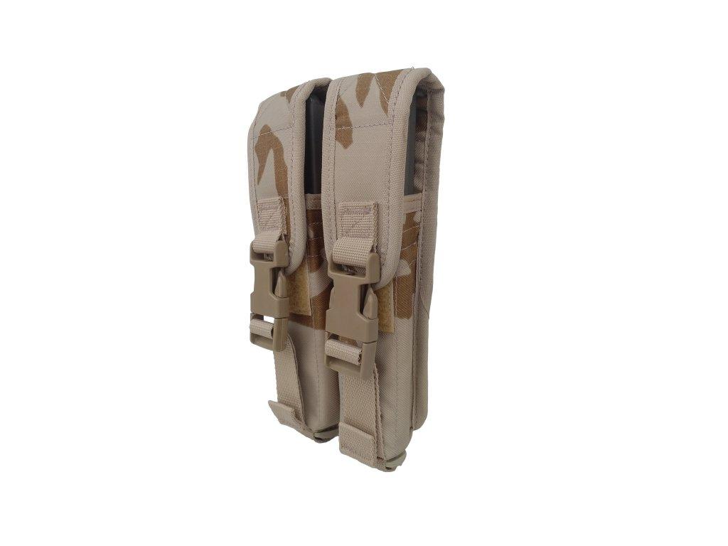 Pouzdro na 2 zásobníky MP5 AČR vz.95 desert Ulena SPM originál