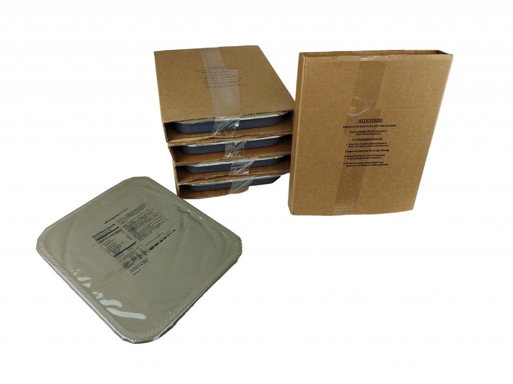Bojová dávka potravy skupinové MRE US 9-18 porcí
