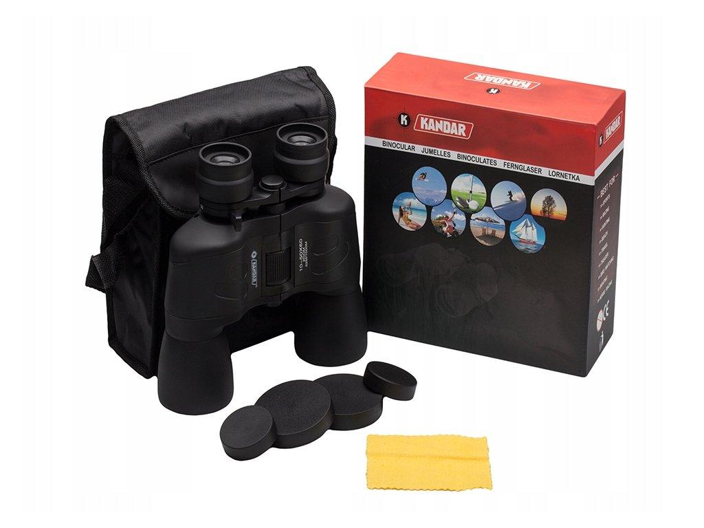 Dalekohled Kandar Porro Prism Binoculars 10x-50x60 Zoom