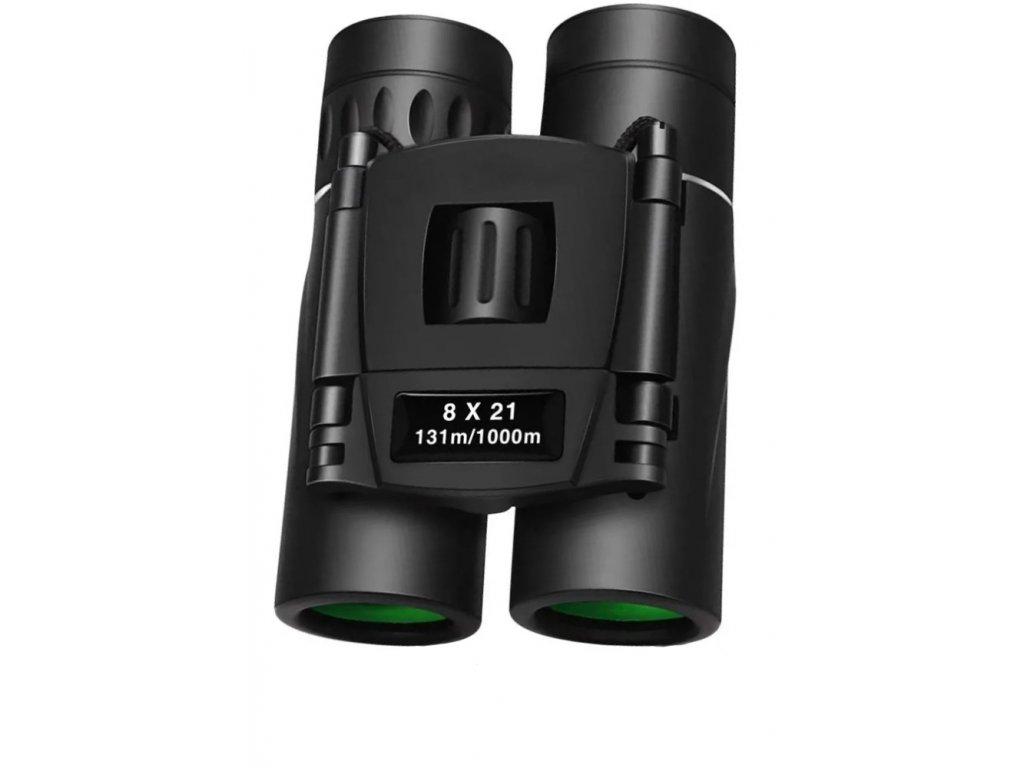 Dalekohled Kandar 8x21 Porro Prism Binoculars černý