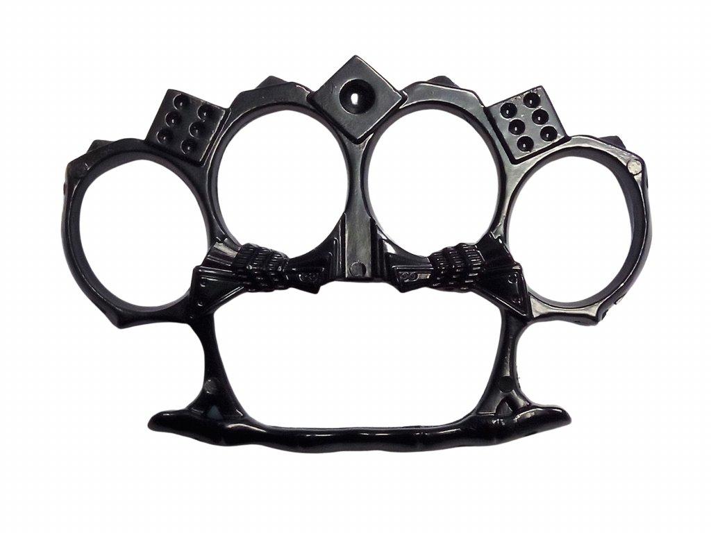 Boxer černý Hot Rod kostky