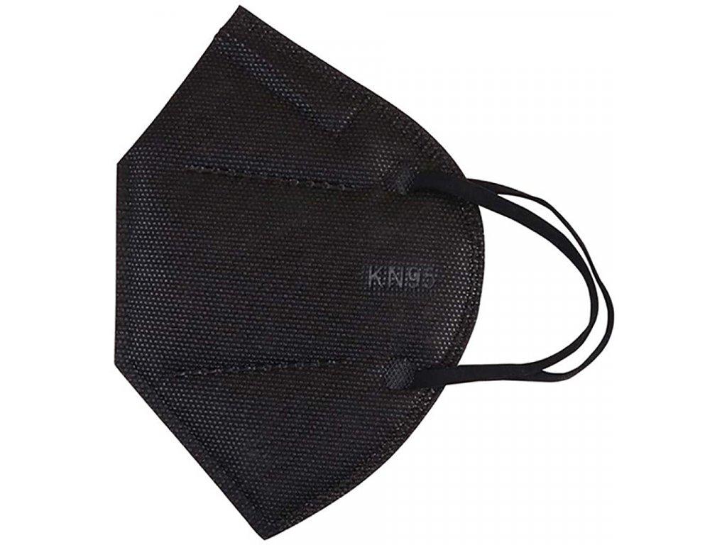 Ochranný respirátor KN95 Protective Mask balení 10 kusů černý