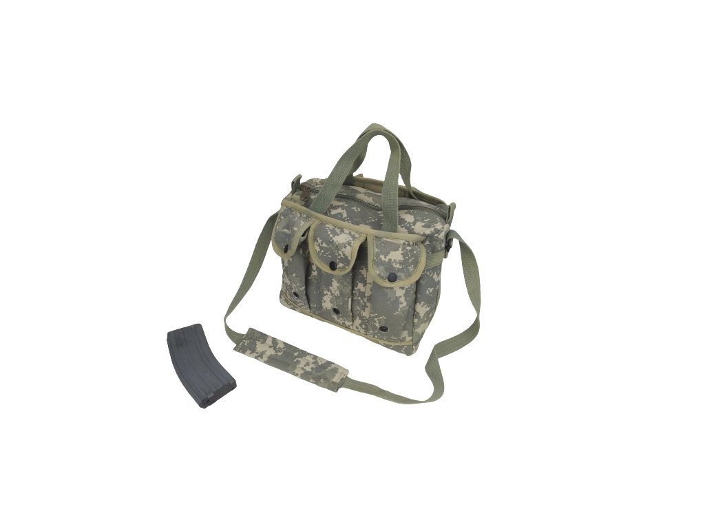Taška přes rameno pro střelce Canvas Shooter's Bag AT-Digital ACU
