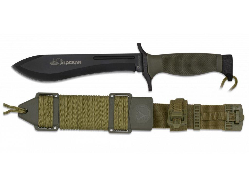 Nůž tactical ALACRAN Albainox černý 32383