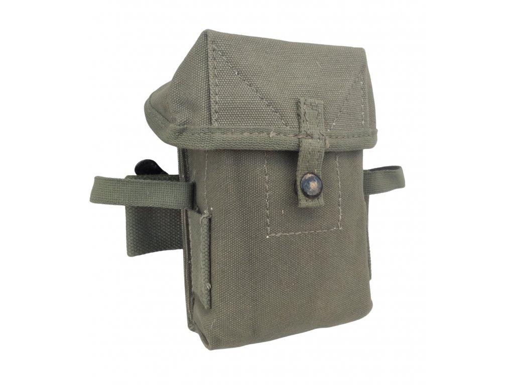 Sumka M16 bavlna na zásobníky model US Vietnam M56 originál Řecko