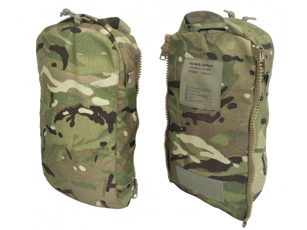 Kapsa na batoh britský VIRTUS SYSTEM MTP Multicam 5l originál